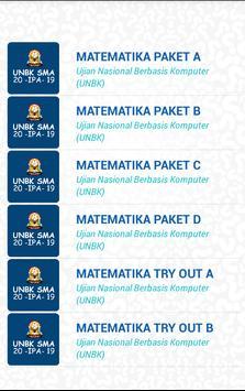 UNBK SMA IPA 2020 (Ujian Nasional) screenshot 5