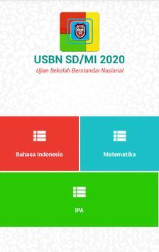 USBN SD 2020 (Ujian Nasional SD) poster
