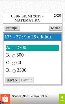 USBN SD 2020 (Ujian Nasional SD) screenshot 2