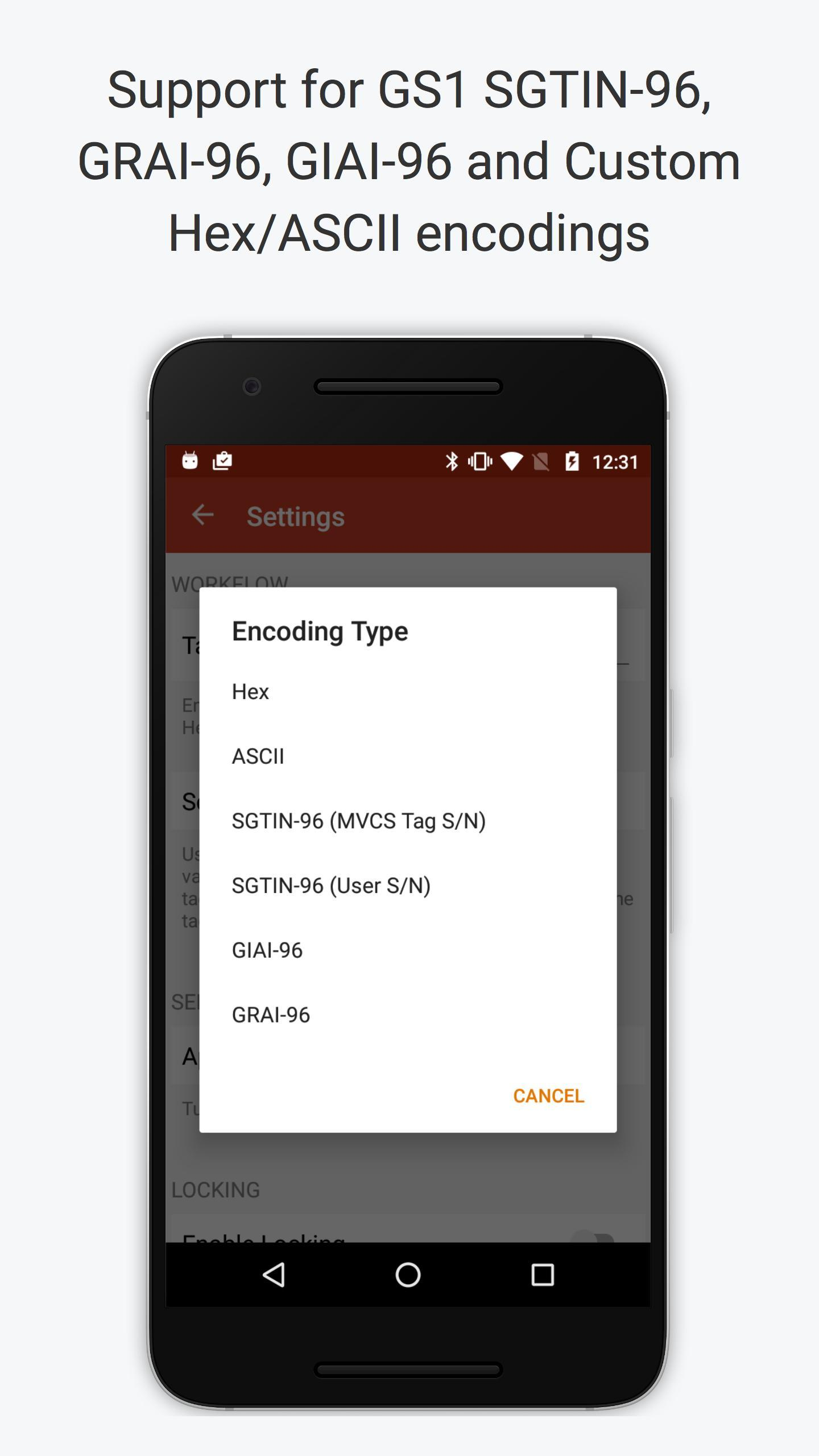 RFID Scan Scan Write for Android - APK Download