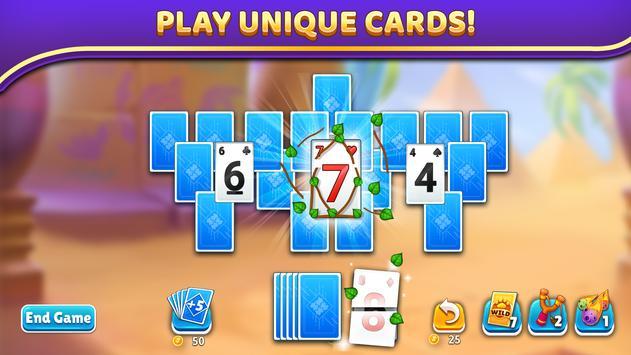 Puzzle Solitaire - Tripeaks Escape with Friends screenshot 3