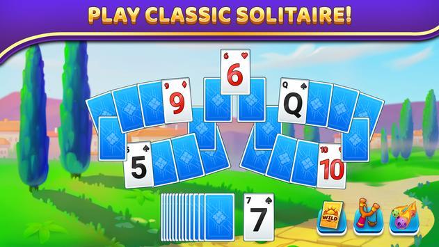 Puzzle Solitaire - Tripeaks Escape with Friends poster