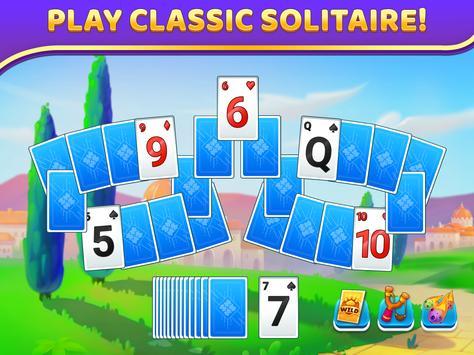 Puzzle Solitaire - Tripeaks Escape with Friends screenshot 5