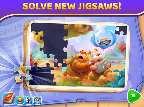 Puzzle Solitaire - Tripeaks Escape with Friends screenshot 11
