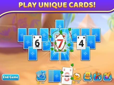Puzzle Solitaire - Tripeaks Escape with Friends screenshot 13