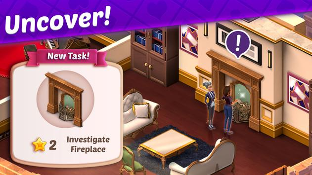 Solitaire Story - Ava's Manor: Tripeaks Card Game screenshot 4