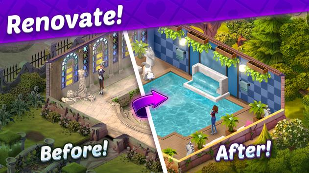 Solitaire Story - Ava's Manor: Tripeaks Card Game screenshot 1