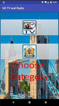 UK TV & Radio poster