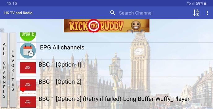UK TV & Radio screenshot 2