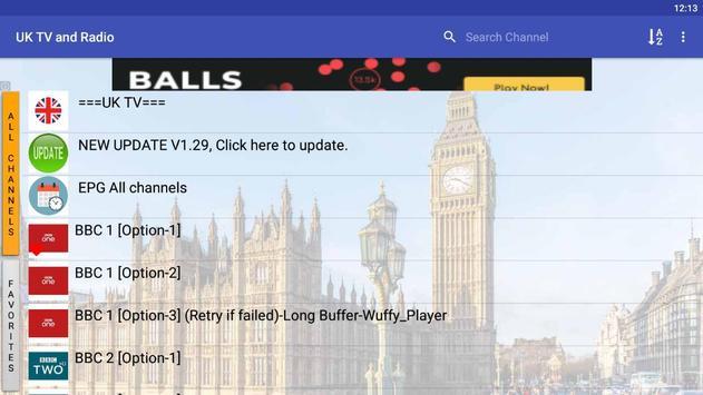 UK TV & Radio screenshot 7