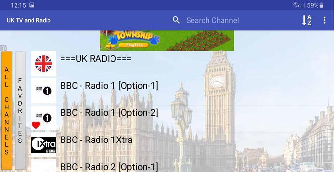 UK TV & Radio screenshot 4