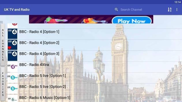 UK TV & Radio screenshot 8