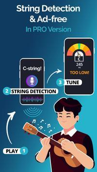 Ukulele Tuner Pocket - Pitch Perfect Uke Tuner App screenshot 3