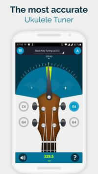 Ukulele Tuner Pocket - Pitch Perfect Uke Tuner App poster