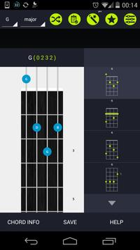 Pocket Ukulele Chords poster
