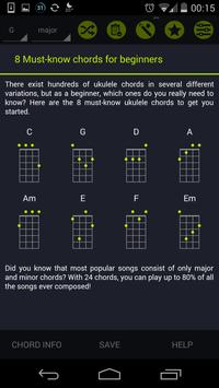 Pocket Ukulele Chords screenshot 1