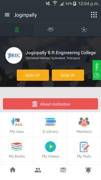 Joginpally B.R. Engineering College screenshot 1