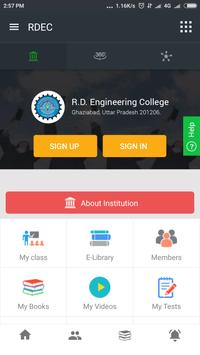 R.D. Engineering College poster