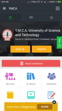 Y.M.C.A. University of Science and Technology poster