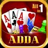 Adda : Rummy , 29 card game , 3 Patti , CallBreak ikona