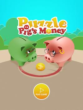Pigs Money - Puzzle games poster