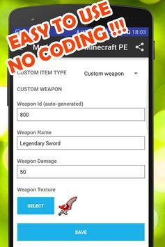 Mod Maker for Minecraft PE poster