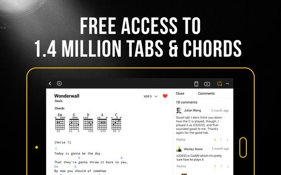 ultimate guitar tabs and chords v5.12.0 unlocked apk