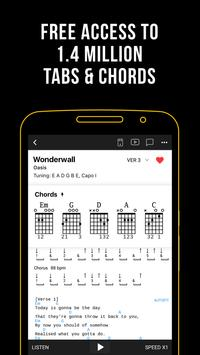 Ultimate Guitar: Tabs & Chords poster