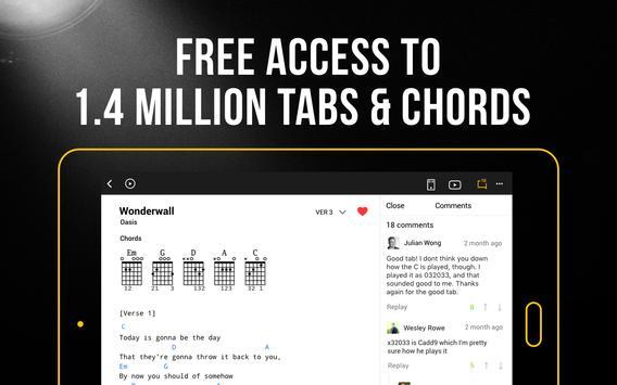 Ultimate Guitar: Tabs & Chords screenshot 10