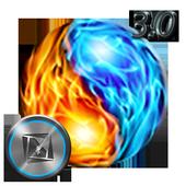 TSF Shell Theme Flames icon