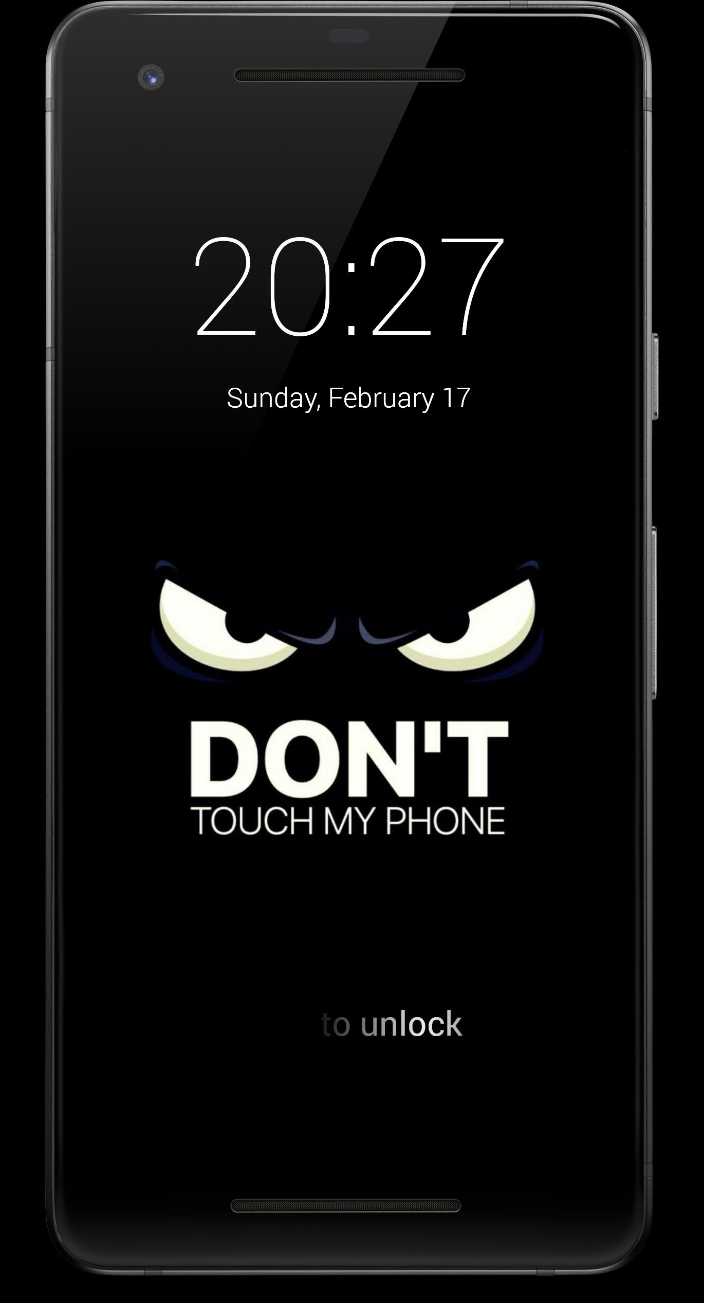 Don T Touch My Phone Hd Lock Screen For Android Apk Download