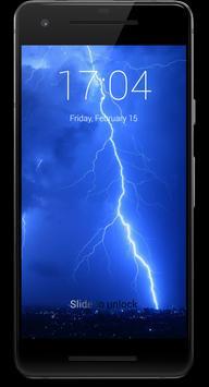 Lightning HD Lock Screen screenshot 2