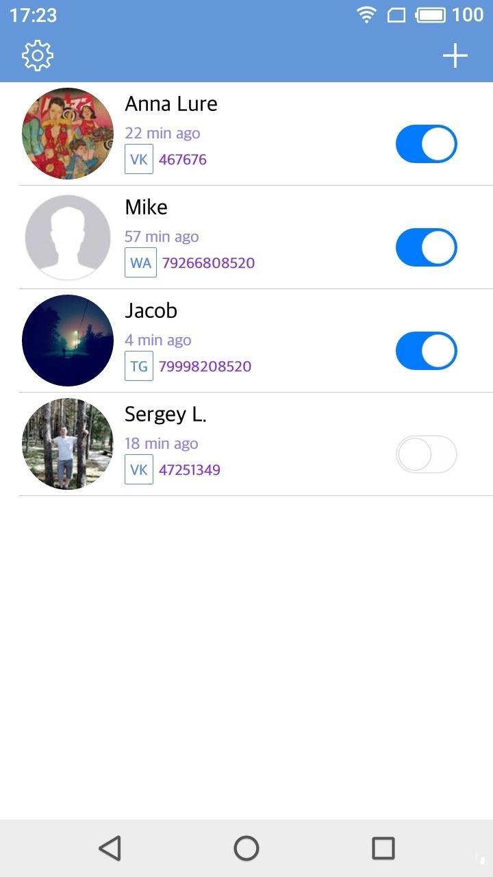 netwa - spy for whatsapp, telegram, vk for Android - APK
