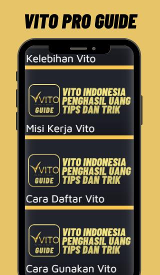 Tips Vito Indonesia Penghasil Uang For Android Apk Download