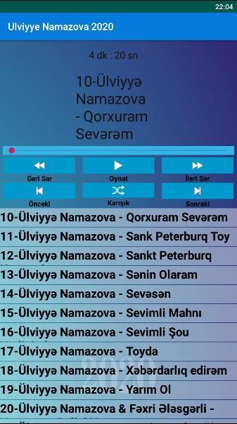 Internetsiz Mahnilar Ulviyye Namazova 2020 For Android Apk Download