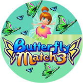 Butterfly Match 3 icon