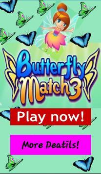 Butterfly Match 3 poster