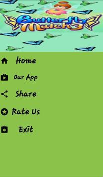 Butterfly Match 3 screenshot 1