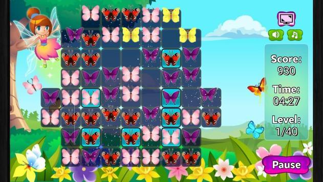 Butterfly Match 3 screenshot 3