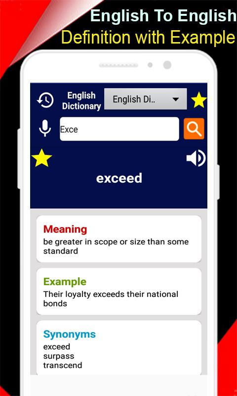 Offline English Dictionary Advanced Dictionary for Android