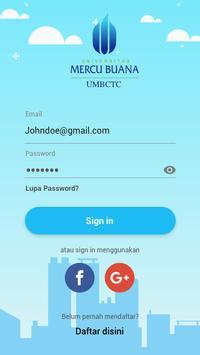 Mercu Buana Career & Training Center (UMBCTC) poster