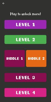 Riddles games - Can you solve it? poster