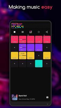 Create Music and Beats - DJ Pad: Easy Beat screenshot 1