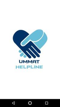 Ummat Helpline poster