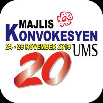 Majlis Konvokesyen UMS Ke-20 poster