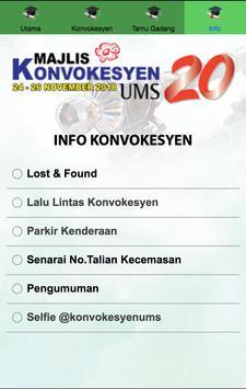 Majlis Konvokesyen UMS Ke-20 screenshot 2
