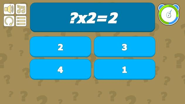 High Level Multiplication Table screenshot 13