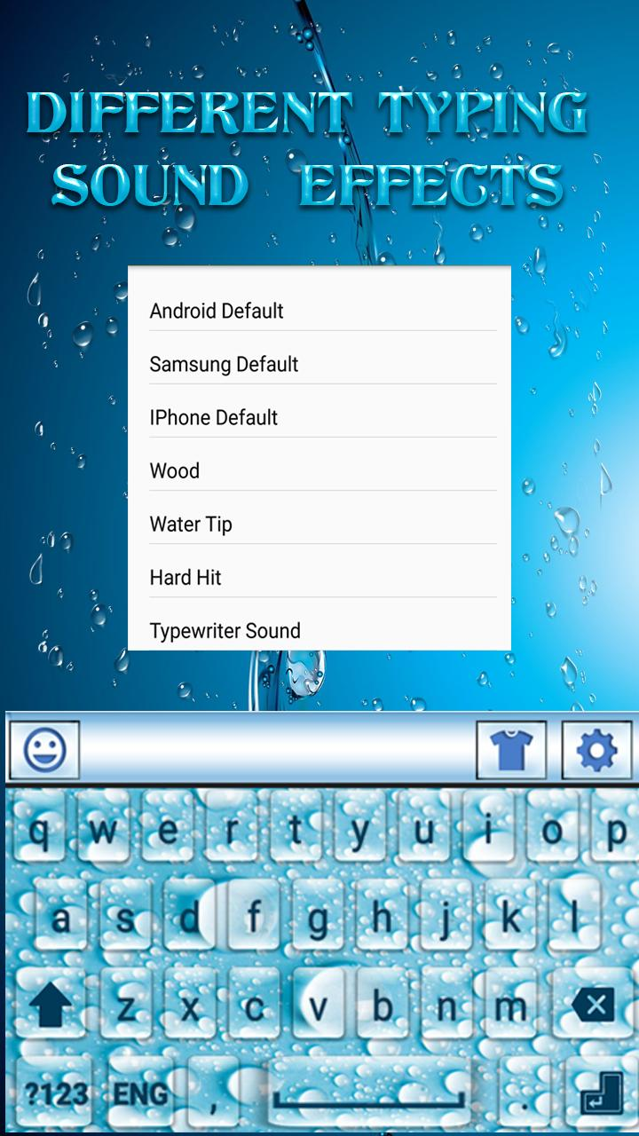 Water Drops Keyboard for Android - APK Download