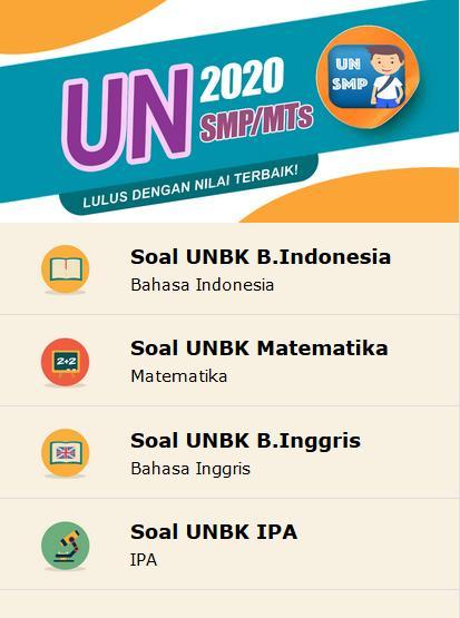 Kunci Jawaban Un Smp Mts 2020 For Android Apk Download