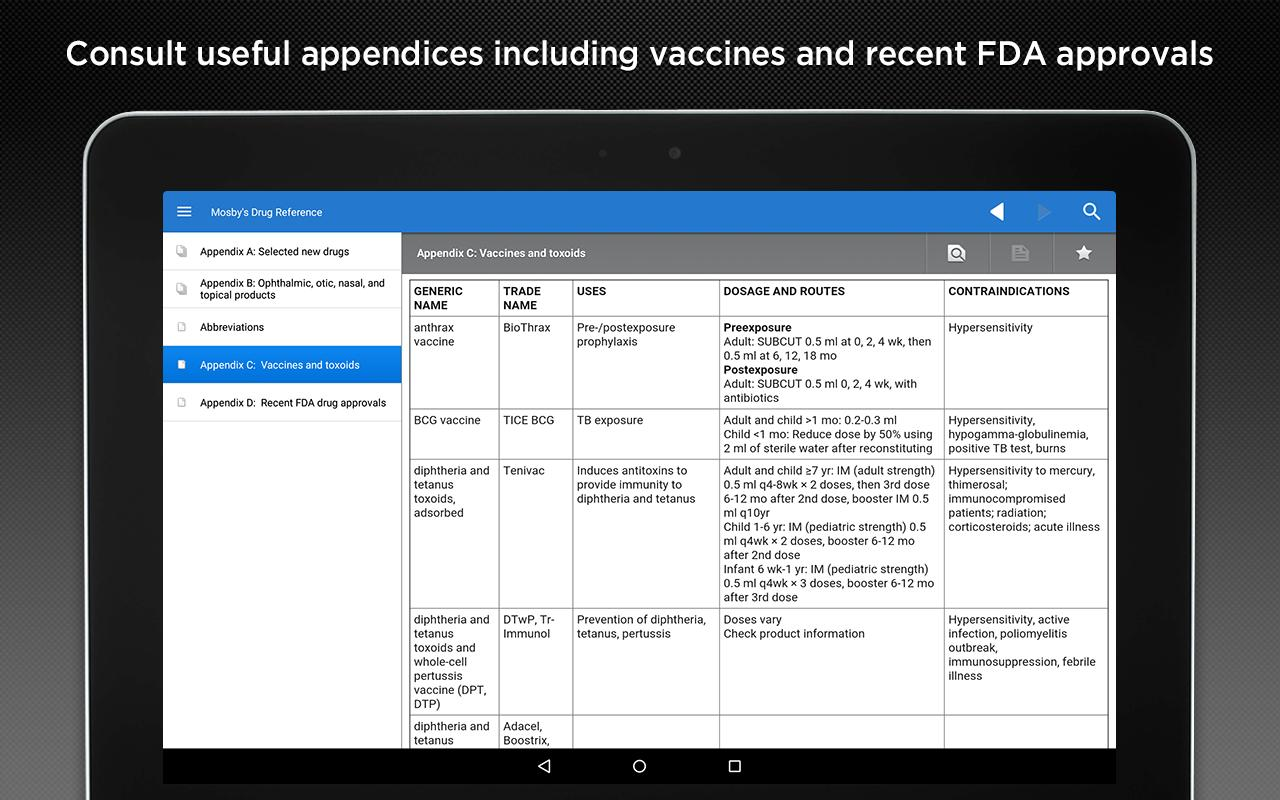 Mosby's Drug Reference for Android - APK Download